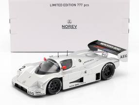 Sauber-Mercedes C9 #2 Junior test Schumacher, Wendlinger, Frentzen 1:18 Norev