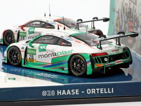 2-Car Set Audi R8 LMS #28 & #29 Winner GT Masters 2016