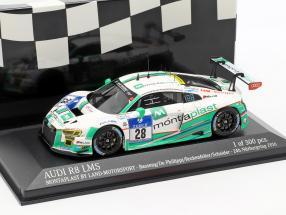 Audi R8 LMS #28 24h Nürburgring 2016 Montaplast by Land-Motorsport 1:43 Minichamps