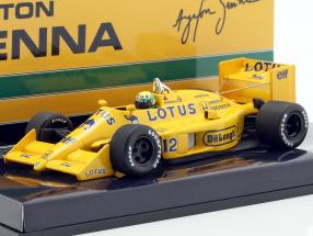 Ayrton Senna Lotus 99T #12 formula 1 1987 1:43 Minichamps