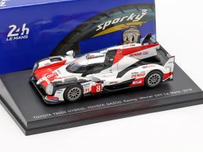 Toyota TS050 Hybrid #8 Winner 24h LeMans 2018 Buemi, Nakajima, Alonso 1:64 Spark
