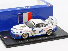 Porsche 911 GT2 #70 Winner 1000km Paris 1995 Oberndorfner, Hübner 1:43 Spark