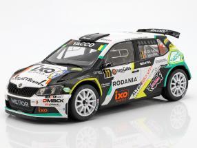 Skoda Fabia R5 #11 Rally Condroz 2018 De Cecco, Humblet 1:18 Ixo