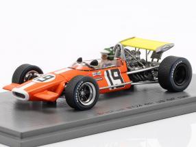 Silvio Moser Brabham BT24 #19 6th United States GP formula 1 1969 1:43 Spark