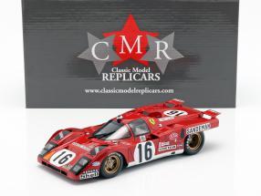 Ferrari 512 M #16 4. Platz 24h LeMans 1971 Craft, Weir 1:18 CMR