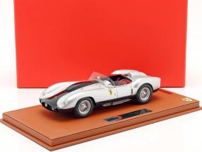 Ferrari TR58 Street Version 1958 silver 1:18 BBR