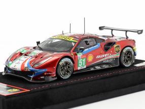 Ferrari 488 GTE #51 24h LeMans 2018 Calado, Pier Guidi, Serra 1:43 BBR