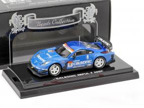 Nissan Fairlady Z #12 Super GT Series 2007 Hoshino, Treluyer, Dufour 1:64 Kyosho
