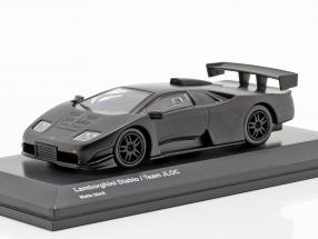 Lamborghini Diablo Team JLOC mattschwarz 1:64 Kyosho