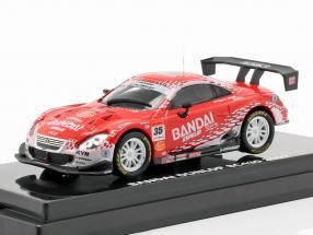 Lexus SC430 #35 Super GT Series 2007 Hattori, Dumbreck, Quintarelli 1:64 Kyosho