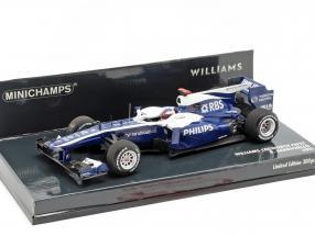 Rubens Barrichello Williams FW32 #9 Formel 1 2010 1:43 Minichamps