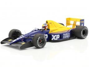 Jean Alesi Tyrrell 018 #4 F1 Debut 4th Frankreich GP 1989 1:18 Minichamps