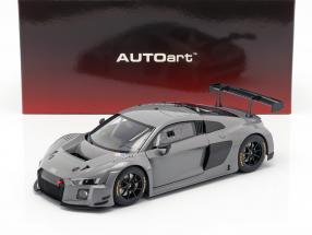 Audi R8 LMS Plain Body Version 2016 nardo grey 1:18 AUTOart