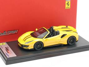 Ferrari 488 Pista Spider year 2018 tristrato yellow 1:43 LookSmart