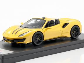 Ferrari 488 Pista Spider year 2018 tristrato yellow 1:43 LookSmart