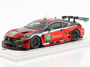 Lexus RC F GT3 #15 Pole position GTD Class Mid-Ohio 2018 Hawksworth, Heinemeier 1:43 Spark