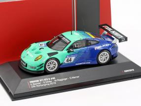 Porsche 911 (991) GT3 R #44 9th 24h Nürburgring 2018 Falken 1:43 CMR