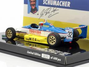M. Schumacher Reynard 893 #32 Winner Qualifying Macau GP 1989