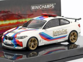 BMW M2 MotoGP Safety Car 2016 white 1:43 Minichamps