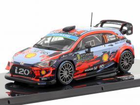 Hyundai i20 WRC #11 2nd Rallye Monte Carlo 2019 Neuville, Gilsoul 1:43 Ixo