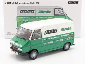 Fiat 242 Van Rallye Assistance Lancia Team 1977 grün / weiß 1:18 Laudoracing Models
