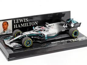 L. Hamilton Mercedes-AMG F1 W10 EQ #44 Formel 1 Weltmeister 2019 1:43 Minichamps