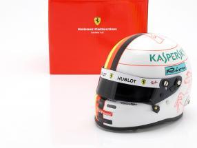 Sebastian Vettel Ferrari SF90 #5 Formel 1 2019 Helm 1:2 Arai