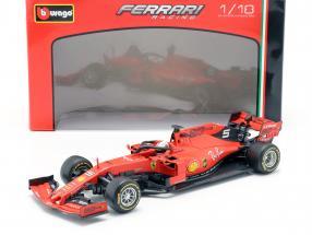 Sebastian Vettel Ferrari SF90 #5 Formel 1 2019 1:18 Bburago