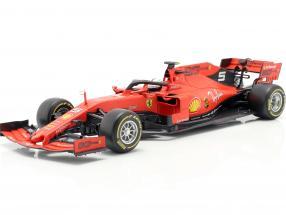 Sebastian Vettel Ferrari SF90 #5 formula 1 2019 1:18 Bburago