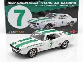 Chevrolet Camaro Z/28 #7 Trans Am 1967 Alan Green Chevrolet 1:18 GMP