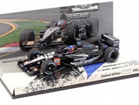 Fernando Alonso Minardi PS01 #21 F1 Debut Australien GP 2001 1:43 Minichamps