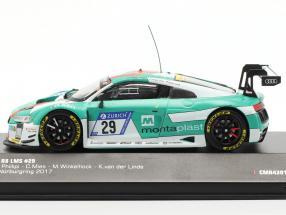 Audi R8 LMS #29 Winner 24h Nürburgring 2017 Audi Sport Team Land