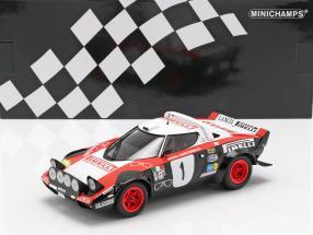 Lancia Stratos #1 Winner Rally Dynavit Saarland 1978 Röhrl, Geistdörfer 1:18 Minichamps