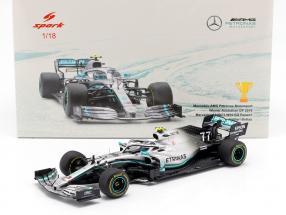 V. Bottas Mercedes-AMG F1 W10 #77 Winner Australien GP Formel 1 2019 1:18 Spark
