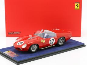 Ferrari 250 TRI/61 #17 24h LeMans 1961 P. Rodriguez, R. Rodriguez mit Vitrine 1:18 LookSmart
