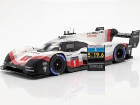 Porsche 919 Hybrid Evo #1 Rundenrekord Nürburgring 2018 T. Bernhard 1:18 Spark