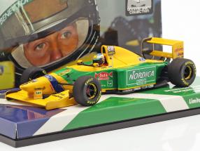 Michael Schumacher Benetton B193B #5 Italian GP formula 1 1993 1:43 Minichamps