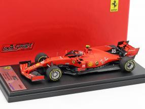 Charles Leclerc Ferrari SF90 #16 5th China GP Formel 1 2019 1:43 LookSmart
