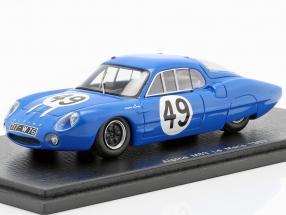 Alpine M63 #49 24h LeMans 1963 Frescobaldi, Richard 1:43 Spark