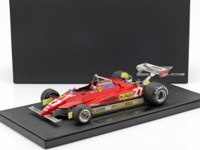 Gilles Villeneuve Ferrari 126C2 #27 Formel 1 1982 1:18 GP Replicas