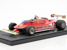 G. Villeneuve Ferrari 312T4 #12 2nd Frankreich GP F1 1979 1:18 GP Replicas