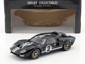 Ford GT40 MK II #2 Winner 24h LeMans 1966 McLaren, Amon 1:18 ShelbyCollectibles