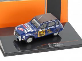 Citroen Dyane #162 Rallye Monte Carlo 1978 Peyret, Cornelli 1:43 Ixo