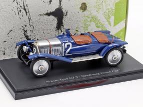 Voisin Type C3 S #12 Strasbourg Grand Prix 1922 1:43 AutoCult