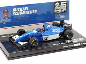 Michael Schumacher Ligier JS39B Test Estoril Formel 1 1994 1:43 Minichamps