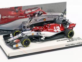 Kimi Räikkönen Alfa Romeo Racing C38 #7 Bahrain GP F1 2019 1:43 Minichamps