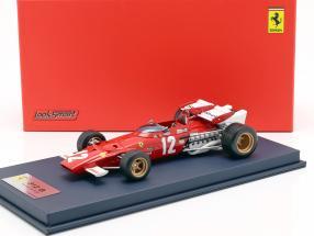 Jacky Ickx Ferrari 312B #12 Winner Österreich GP F1 1970 mit Vitrine 1:18 LookSmart