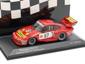 Porsche 935/77 #67 Winner DRM Nürburgring 1977 Stommelen 1:43 Minichamps