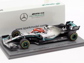 L. Hamilton Mercedes-AMG F1 W10 #44 Winner Monaco GP F1 2019 1:43 Spark