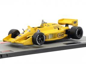 Satoru Nakajima Lotus 99T #11 formula 1 1987 1:43 Altaya